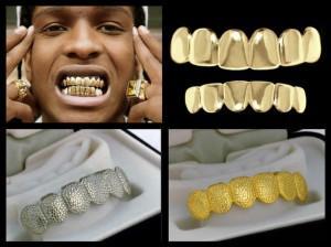 Грилзы на зубы (фиксы): зачем нужны золотые и серебряные накладки-вставки, как у реперов?